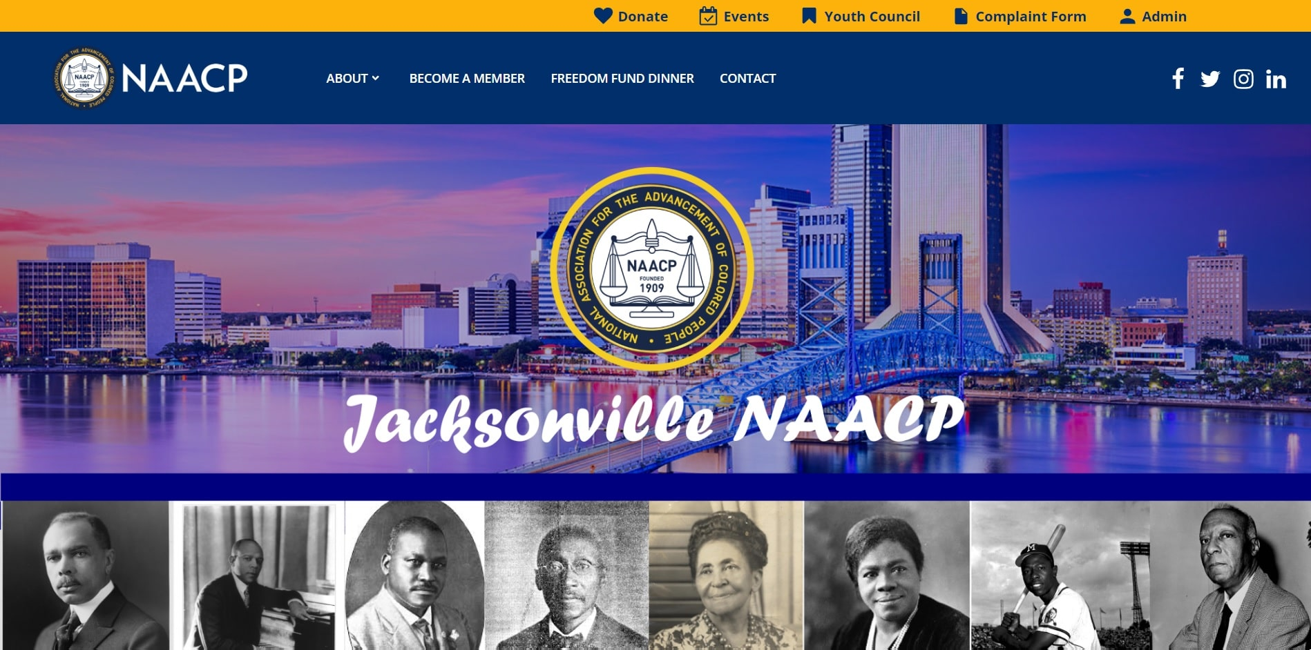 Website Design Template Jacksonville, Florida
